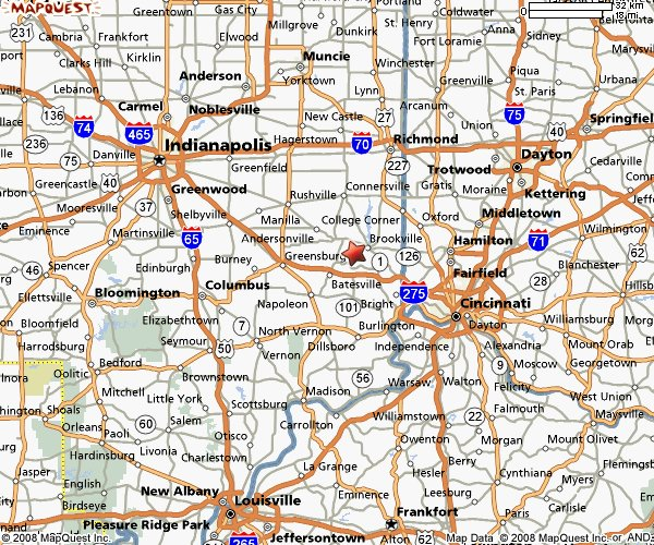 Map Of Southeast Indiana Pictures To Pin On Pinterest