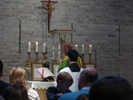 Father Robert's 1st Sung Mass