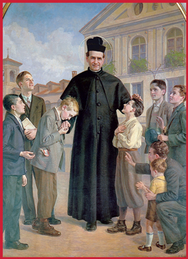 St John Bosco and his oratory