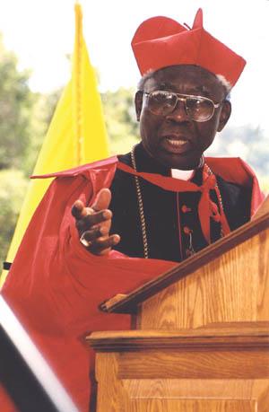 His Eminence Francis Cardinal Arinze