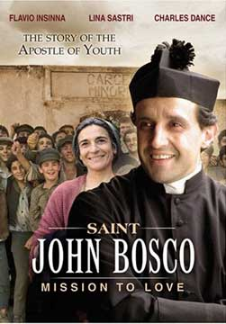 An excellent life drama on the life of St John Bosco.  Click here for availability.