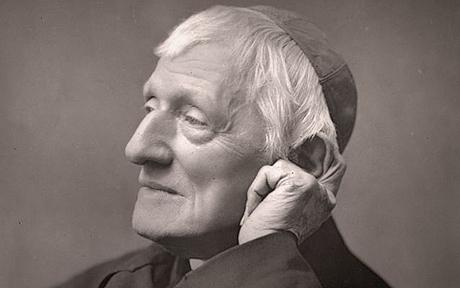 Cardinal John Henry Newman (1801 - 1890) Photo taken in 1888