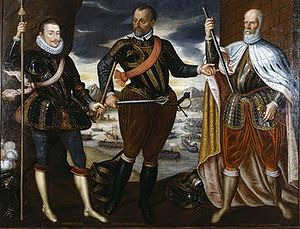 The Victors of Lepanto (from left: John of Austria, Marcantonio Colonna, Sebastiano Venier)