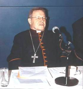 Cardinal Walter Kasper, President of the Pontifical Council for promoting Christian Unity.