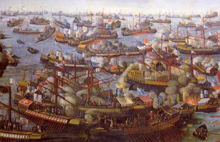 The Battle of Lepanto, October 7th, 1571 A.D., The Great Catholic Victory over the Infidel Muslims