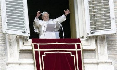 HH Pope Benedict XVI on Sunday October 18, 2009