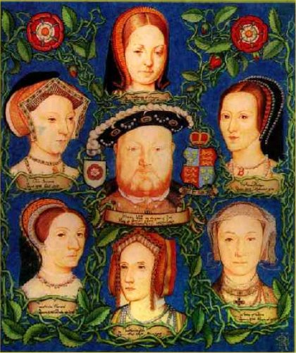 King Henry VIII and his six wives